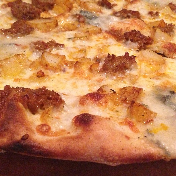 Patate Salsiccia Pizza - Cibo Wine Bar-Coral Gables, Miami, FL