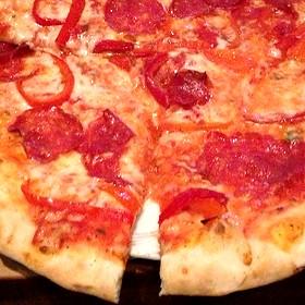 Diavola Pizza - Cibo Wine Bar-Coral Gables, Miami, FL