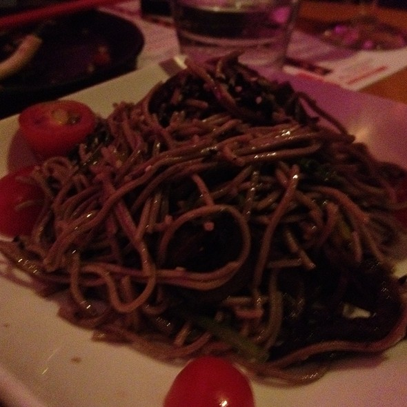 Truffled Soba Noodles - AsiaSF, San Francisco, CA