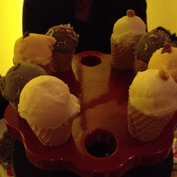 Assorted Ice Cream - AsiaSF, San Francisco, CA