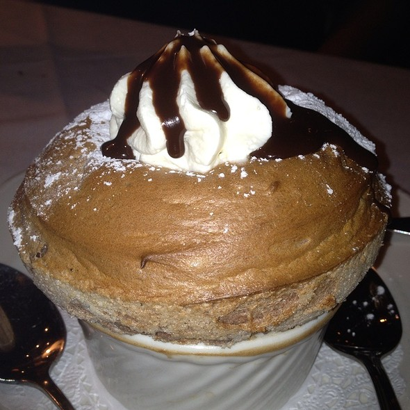 Chocolate Souffle - Lavendou Bistro, Dallas, TX
