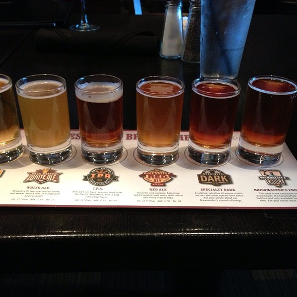 Beer Sampler - Rock Bottom Brewery Restaurant - Boston, Boston, MA