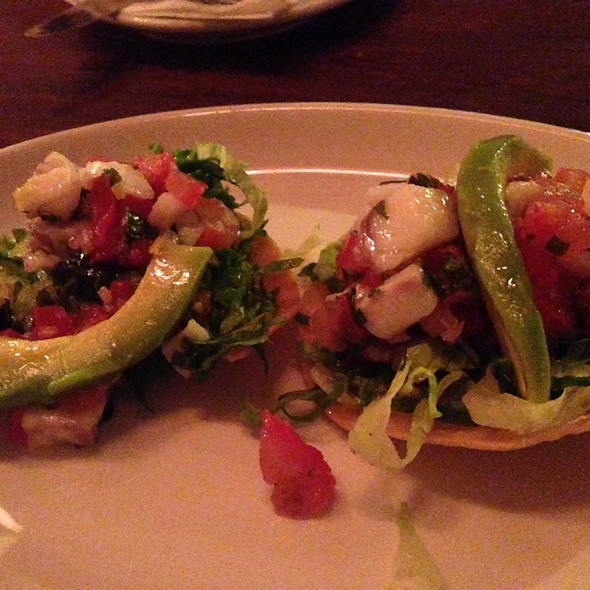 Tostadas de Ceviche - Boho Mexica, London