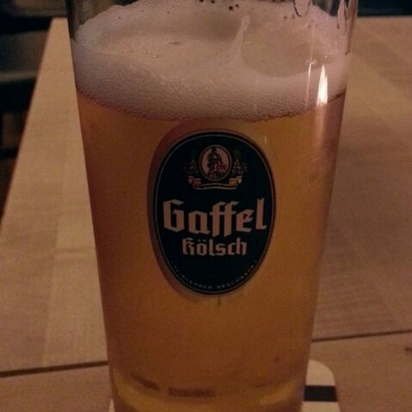 Gaffel Kölsch Beer - Gaffel Haus Berlin an der Friedrichstraße, Berlin