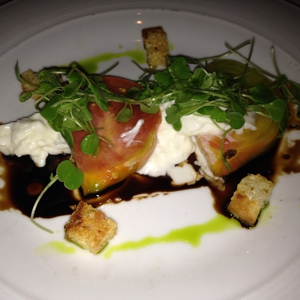 Santa Barbara Heirloom Tomatoes - The Winery Restaurant & Wine Bar- Tustin, Tustin, CA