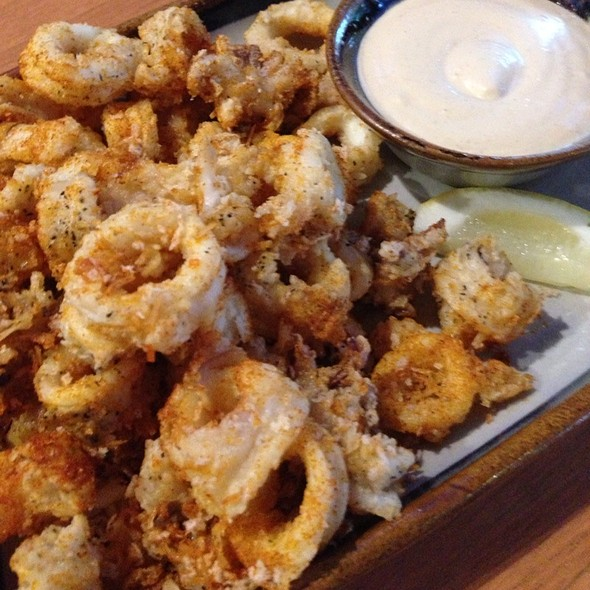 Fried Calamari - Agave Mexican Bistro, Mountain View, CA