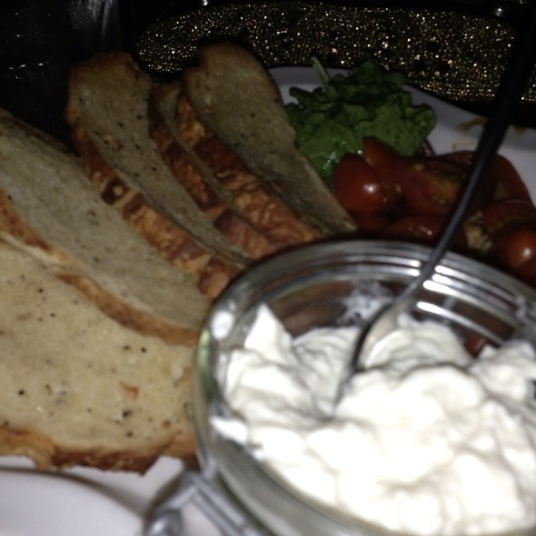 Burrata - Fleming's Steakhouse - LA, Los Angeles, CA