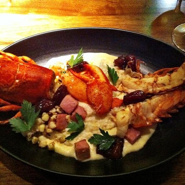 Lobster & Grits - Stars Restaurant - Rooftop & Grill Room, Charleston, SC