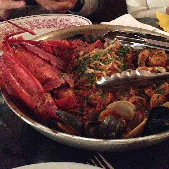 Lobster Fra Diavolo - The Daily Catch Seaport, Boston, MA