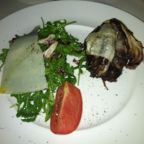 Fresh Arugula And Grilled Radicchio Salad - Cesco Osteria, Bethesda, MD