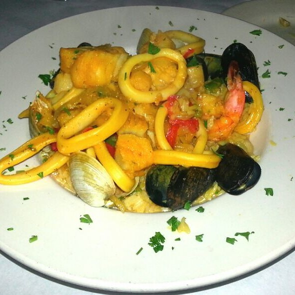 Seafood Paella - Brazil Grill, New York, NY