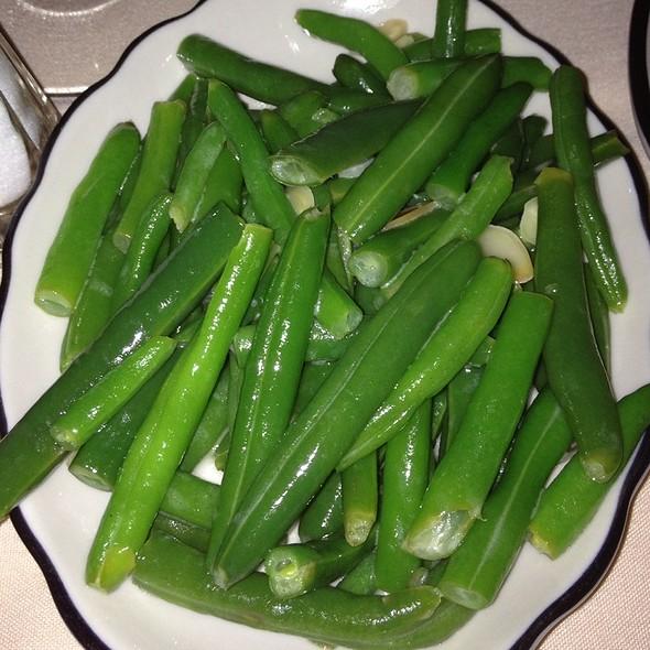 Green Bean Almandine - Butcher & Singer, Philadelphia, PA