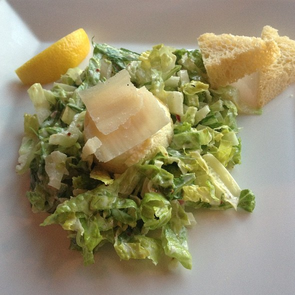 Caesar Salad - The View Restaurant at the Mirror Lake Inn, Lake Placid, NY