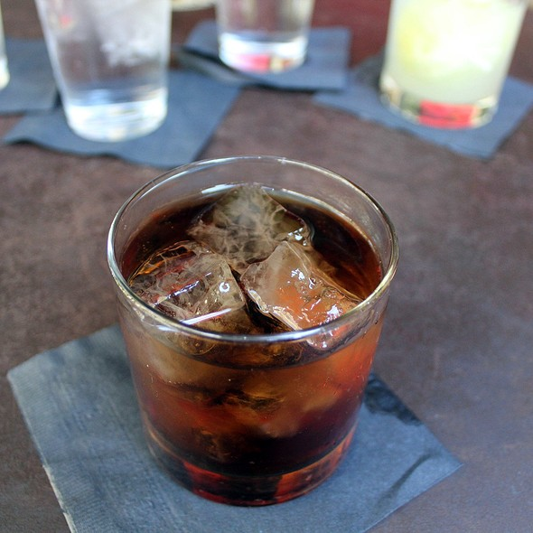 Rum & Coke - Esquire Tavern, San Antonio, TX