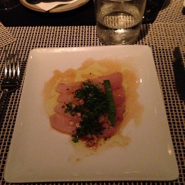 Hamachi Sashimi W Shiitakes And Ginger Soy - Atlantikós, Bal Harbour, FL