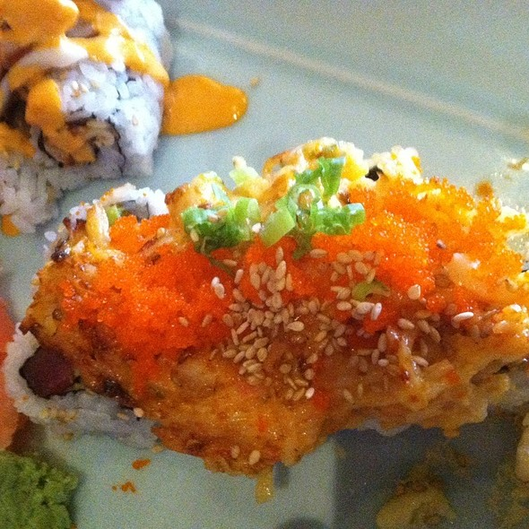 Spicy Scollop Roll - Hayashi Sushi & Grill, Newport News, VA
