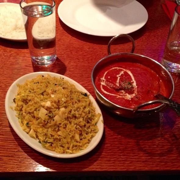 chicken tikka masala - Aladin Brick Lane, London