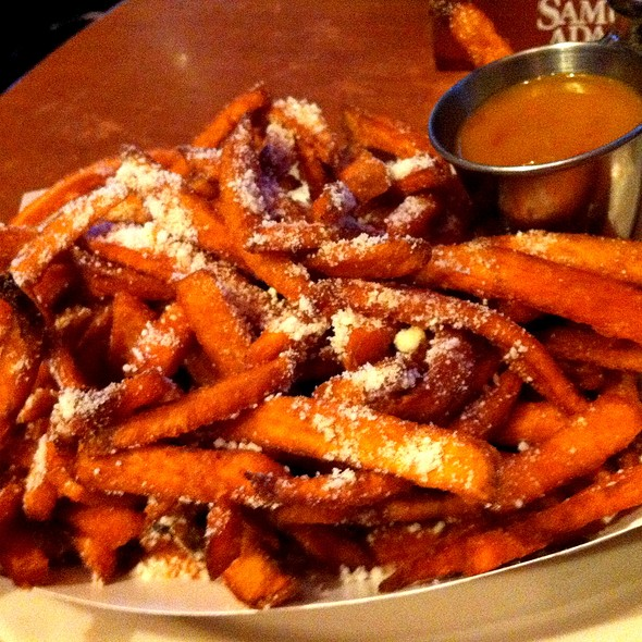 Sweet potato fries - Max & Leo's at Game On Fenway, Boston, MA