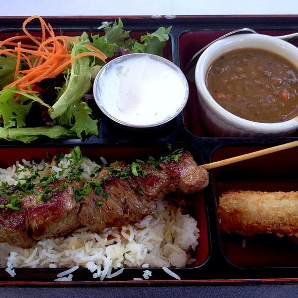 Lamb Kebab Bento Box - Sawa, Coral Gables, FL