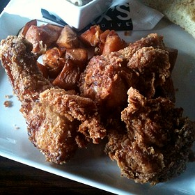 MAX's Famous Southern Fried Chicken - MAX's Wine Dive Dallas - McKinney Ave., Dallas, TX