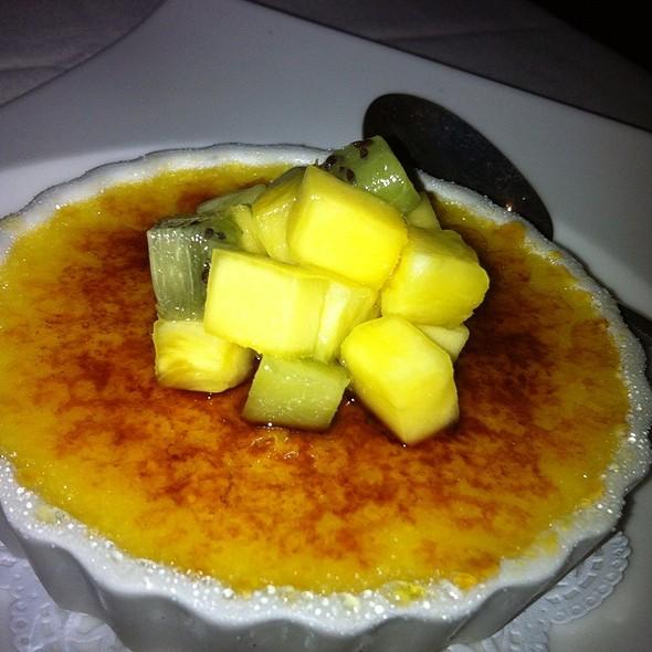Lilikoi Crème Brulee   - Bali Steak & Seafood, Honolulu, HI