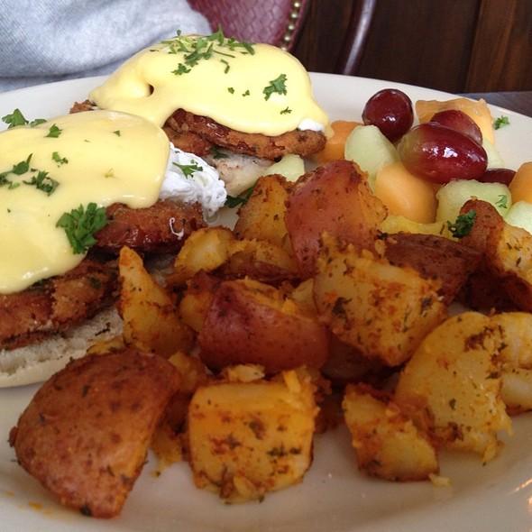 Eggs Benedict - Bravo Brasserie - Providence, Providence, RI