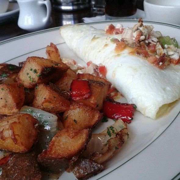 Cobb Omelette (egg whites) - The Grill on the Alley - Dallas, Dallas, TX