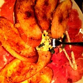 Tenderloin carpaccio - Fleming's Steakhouse - Coral Gables, Coral Gables, FL