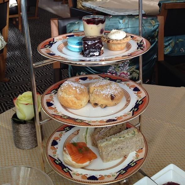 Afternoon Tea Set - Xi Shi Lounge, Shangri-La Hotel Vancouver, Vancouver, BC