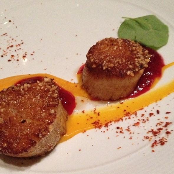 Pecan Crusted Scallops - 701 Restaurant, Washington, DC