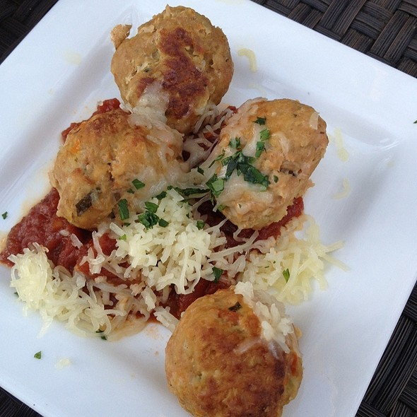 Turkey Meatballs - Napa Valley Grille - Westwood, Los Angeles, CA