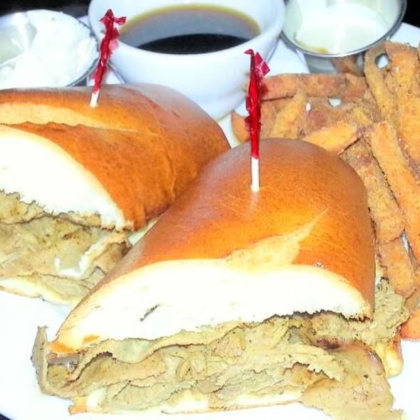 Prime Rib French Dip Sandwich - JT Schmid's Restaurant & Brewery - Tustin, Tustin, CA