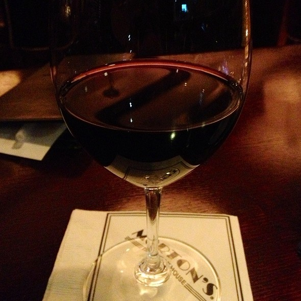 Stags Leap Wine - Morton's The Steakhouse - Beverly Hills, Los Angeles, CA