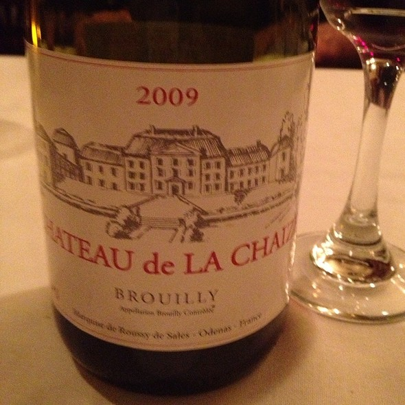 Chateau De La Chaux 2009 Broilly Red Wine - La Voile, Boston, MA