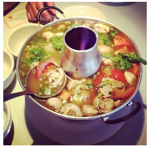 Seafood Tom Yum Soup - Little Thai Fine Dining, Camarillo, CA