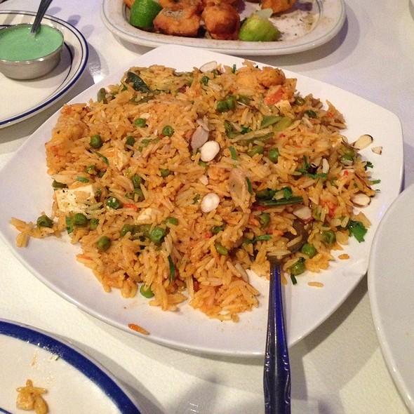 Vegetable Biriyani - Angara Indian Restaurant, Torrance, CA