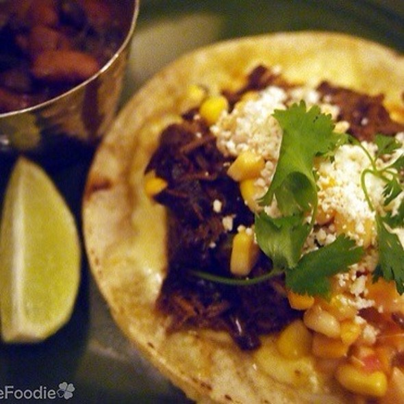 Short Rib Barbacoa Taco - The Painted Burro, Somerville, MA