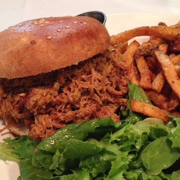 Pulled Pork Sandwich - Jack's Firehouse, Philadelphia, PA