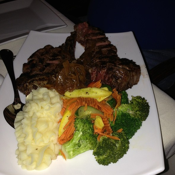 porterhouse steak - Jimmy's An American Restaurant & Bar, Aspen, CO