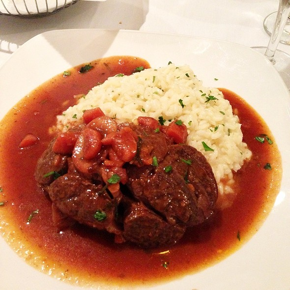 Veal Osso Bucco - Cantina Italiana, Boston, MA