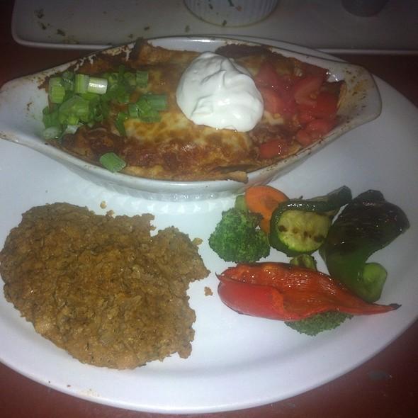 Pozole Enchiladas - Blue Plate Diner, Edmonton, AB