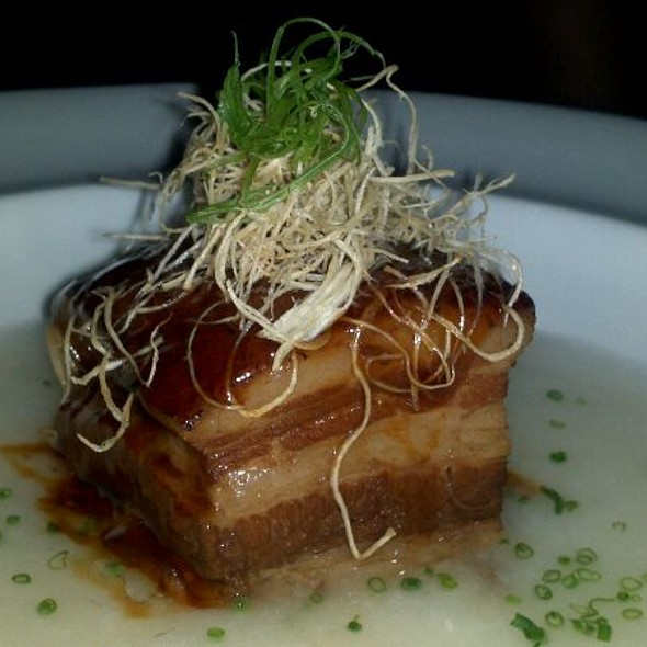 Kakuni (10 Hour Braised Pork Belly) - Morimoto, Philadelphia, PA