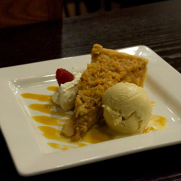 Apple Pie With Maple Browned Butter Gelato - The Root Restaurant & Bar, White Lake, MI