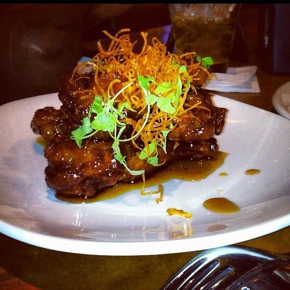Braised Duck Wings - Manning's Restaurant - Harrah's New Orleans, New Orleans, LA