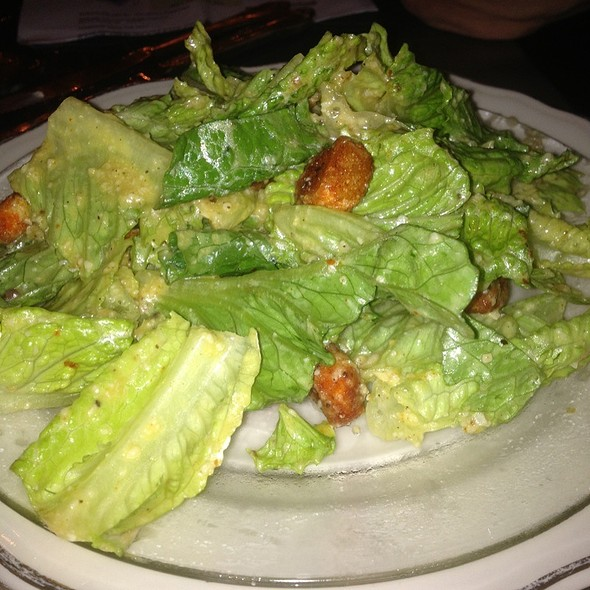 Ceasar Salad - The Library Restaurant - Myrtle Beach, Myrtle Beach, SC