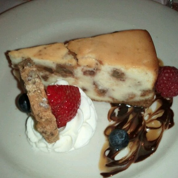 Caramel Praline Cheesecake - Cafe Giovanni, New Orleans, LA