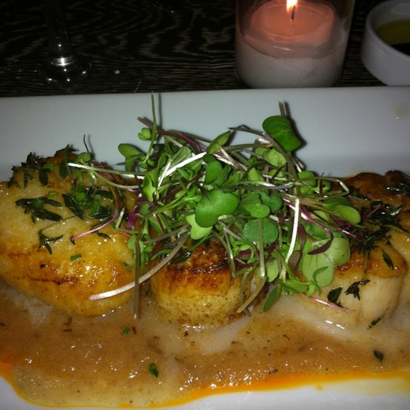 Seared Scallops - 5 and Diamond, New York, NY