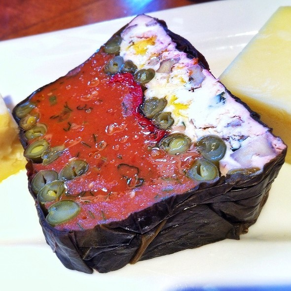 Tomato Terrine - Food Dance, Kalamazoo, MI