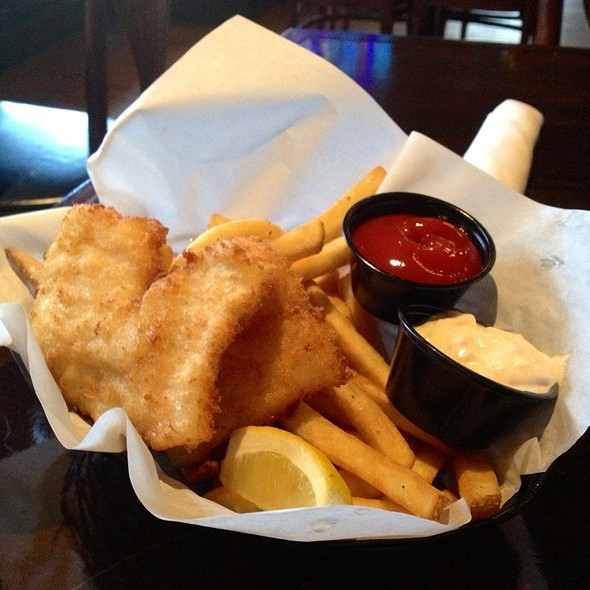 Basket Of Cod & Chips - Wilde Rover Irish Pub & Restaurant, Kirkland, WA