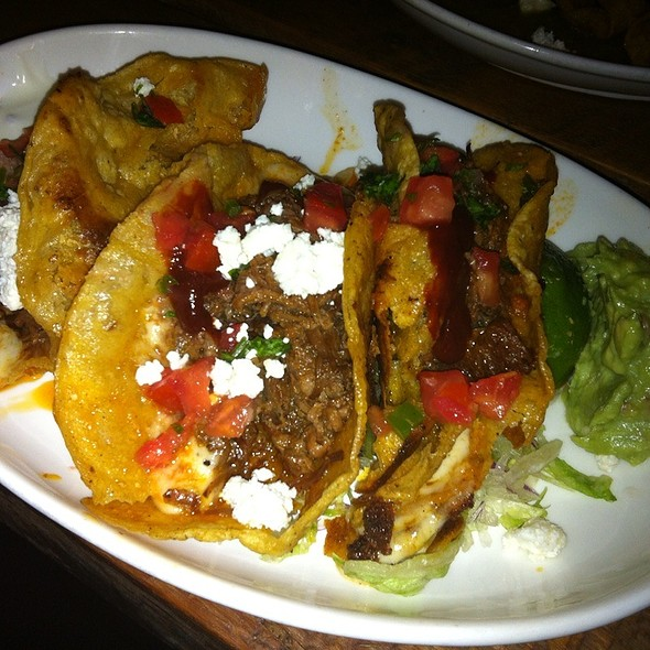 Crispy Chicken Tinga Tacos - Playa Cabana, Toronto, ON